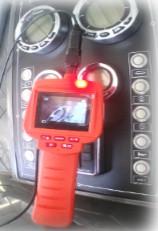 Endoscopio video audio