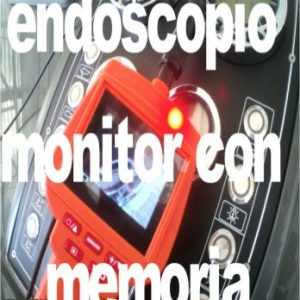 Endoscopi con monitor e registrazione